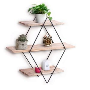 Wall Shelf Rustic Wood Floating Shelves